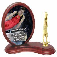 Trofeu lemn WF406Figurina Gimnast 8336 UV