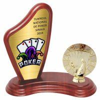 Trofeu lemn WF405Figurina Poker F236 MUV