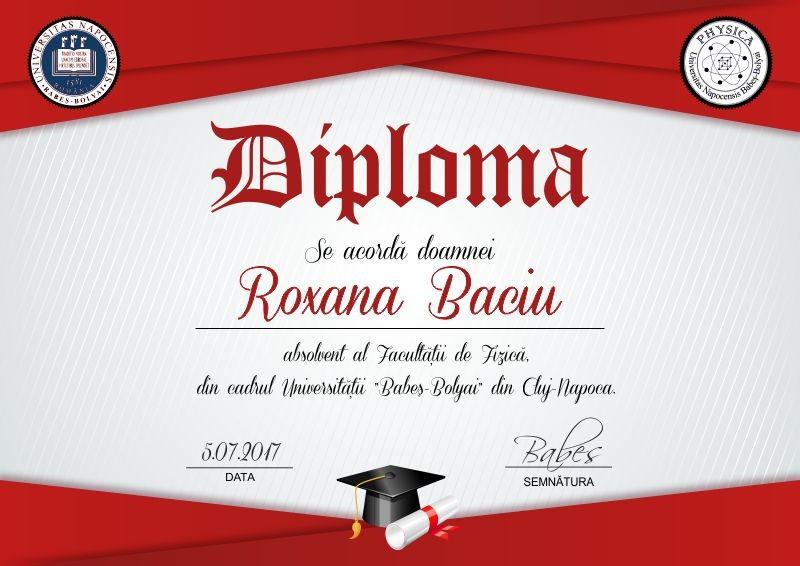 Diploma absolvire A003