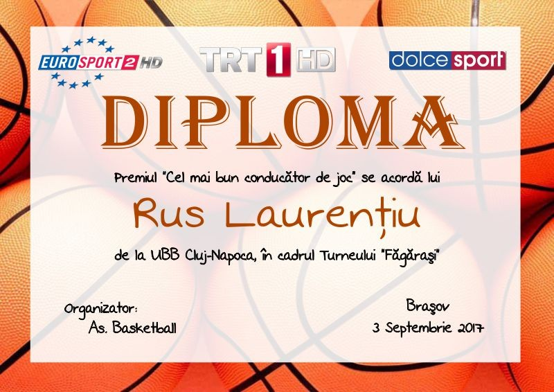 Diploma competitii sportive C017