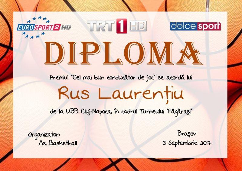 Diploma competitii sportive C017