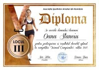 Diploma competitii sportive C003
