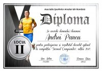 Diploma competitii sportive C005