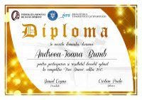 Diploma competitii sportive C007