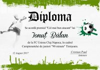Diploma competitii sportive C011