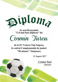 Diploma competitii sportive C013