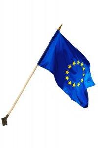 Drapel Romania / UE / NATO - poliester 170g