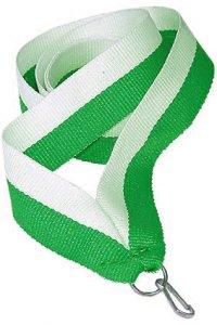 Panglica verde cu alb