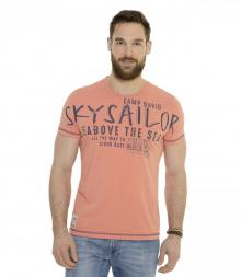tricou camp david sky orange