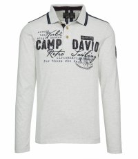 Polo Camp David cu maneca lunga Retro Sailing