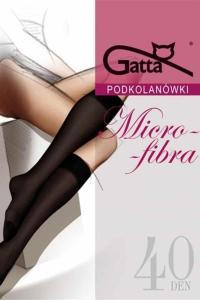 Gatta Microfibra 3/4 40 Den Nero Uni 2 perechi