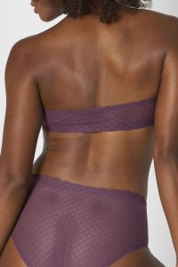 Sloggi ZERO Feel Lace Bandeau Mov 4e