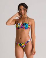 Arena W Allover Bandeau Two Pieces