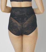 Triumph Wild Rose Sensation Highwaist Panty Negru 2