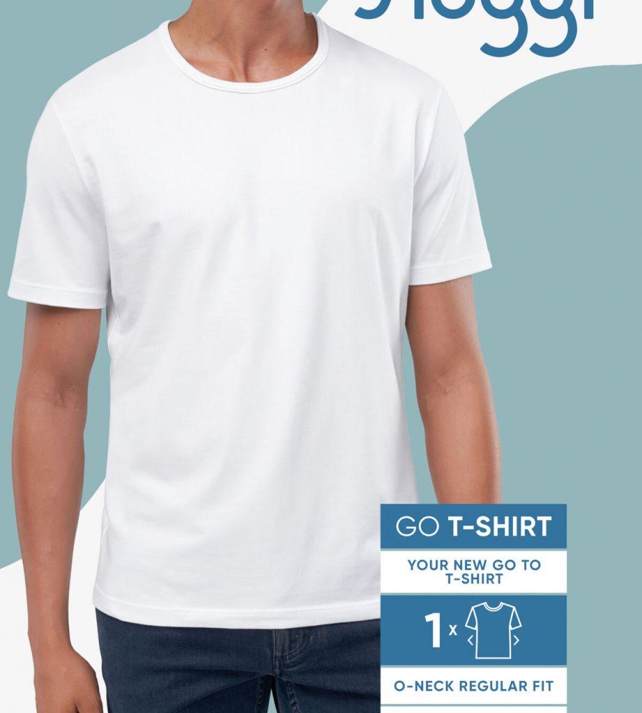 Sloggi men GO Shirt ONeck Regular Fit Alb 10205202 1