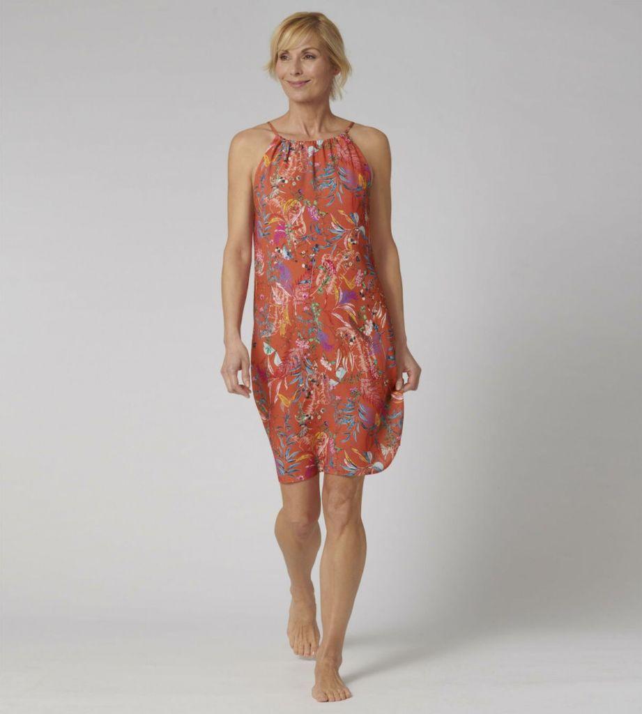 Triumph Botanical Leaf Dress M018 1