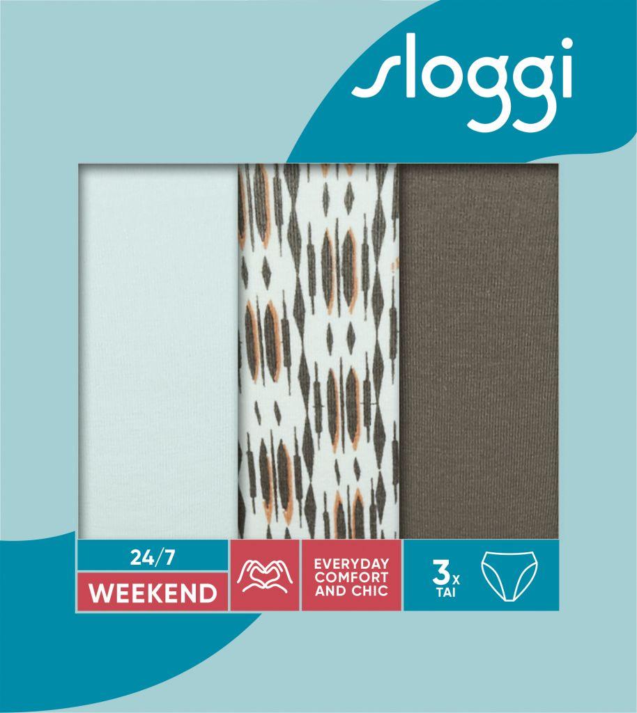 Sloggi 247 Weekend Tai C3P M025 1