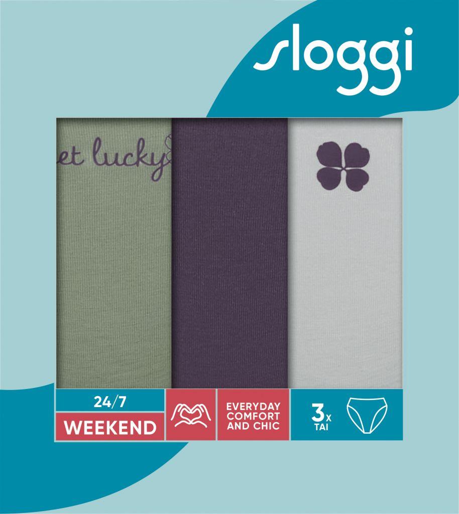 Sloggi 247 Weekend Tai C3P M010 1
