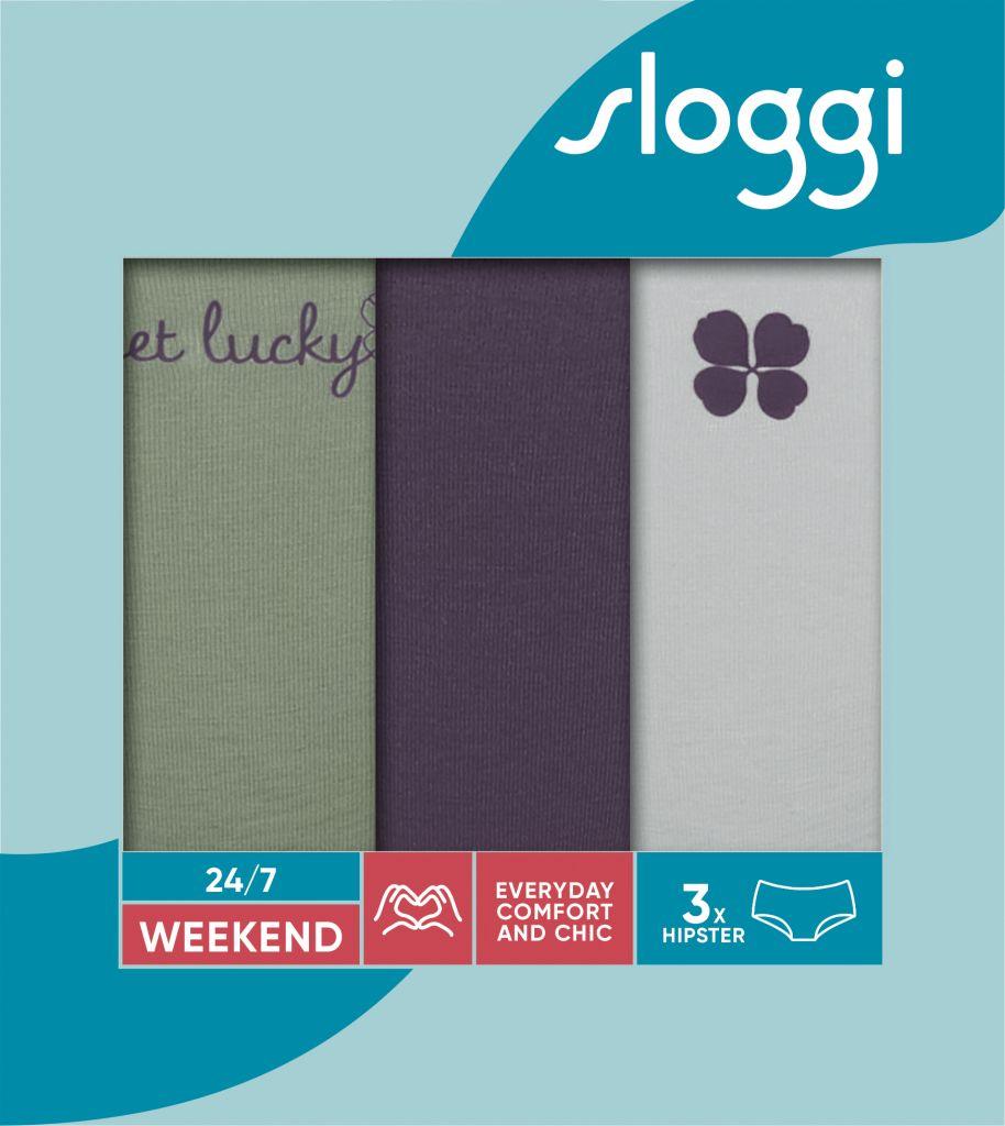 Sloggi 247 Weekend Hipster C3P M010 1
