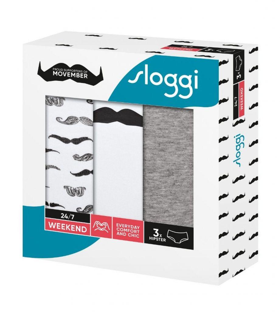Sloggi 247 Weekend Movember Hipster M016 1