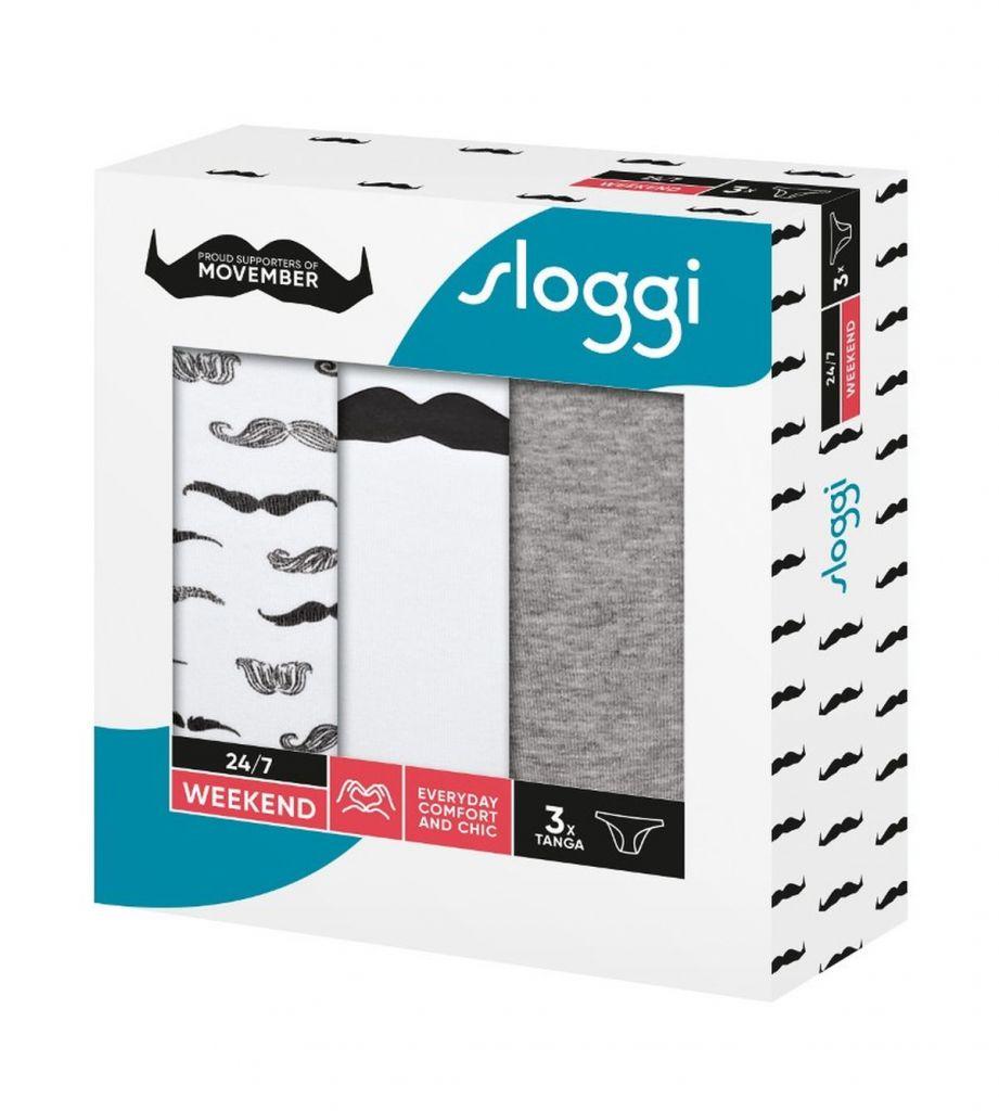 Sloggi 247 Weekend Movember Tanga M016 1