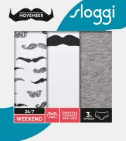 Sloggi 247 Weekend Movember Hipster M016 2