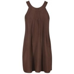 Brown ethno dress