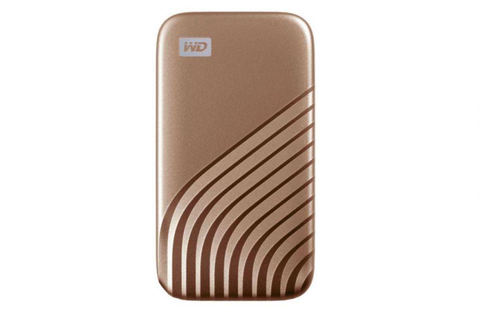 WD EXT SSD 2TB USB 3.2 MY PASSPORT GOLD