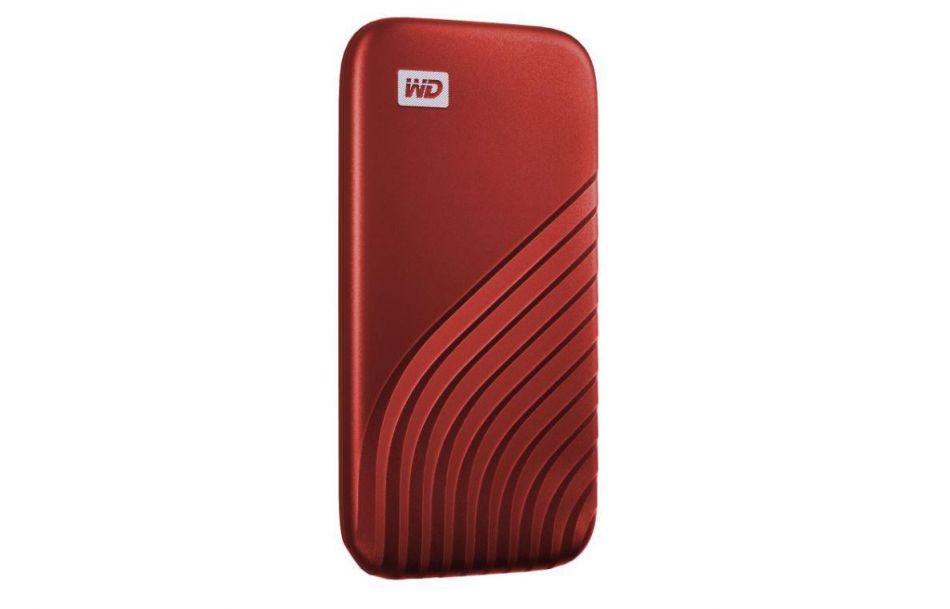 WD EXT SSD 2TB USB 3.2 MY PASSPORT RED