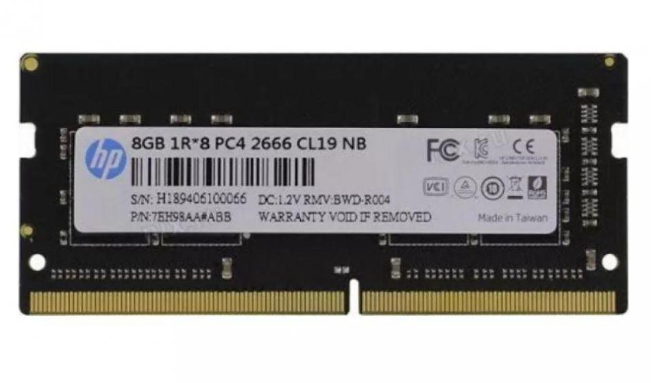 HP DDR4 8GB 2666 SO-DIMM CL19