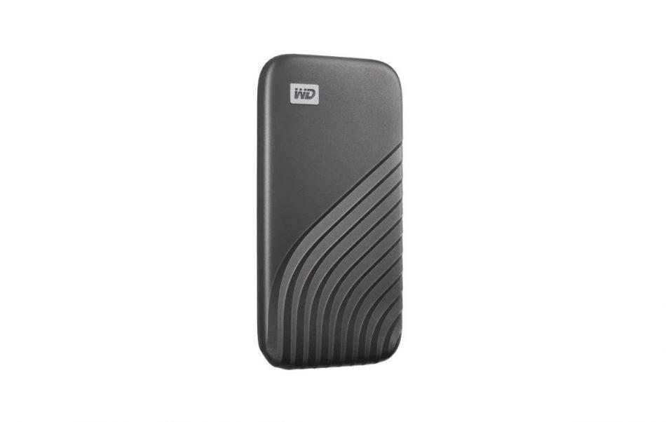 WD EXT SSD 1TB USB 3.2 MY PASS SSD GRAY