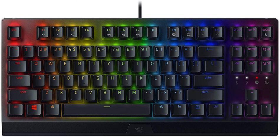KB Razer BlackWidow V3 10keyless GreenSW