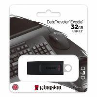 KS USB 32GB DATATRAVELER EXODIA 3.2 BK/W