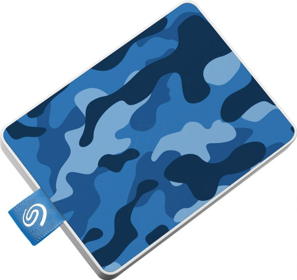 SG EXT SSD 500GB USB 3.0 ONE TOUCH BLUE