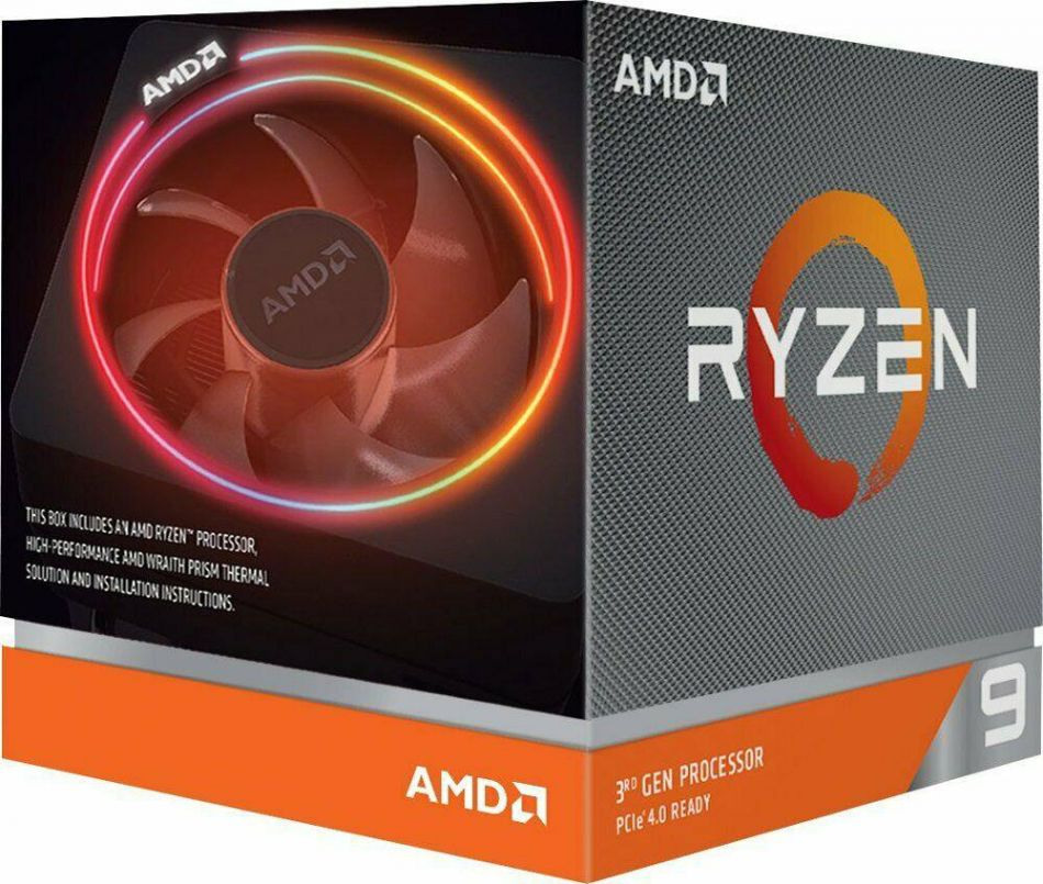AMD CPU RYZEN 9 3900X 100-100000023BOX