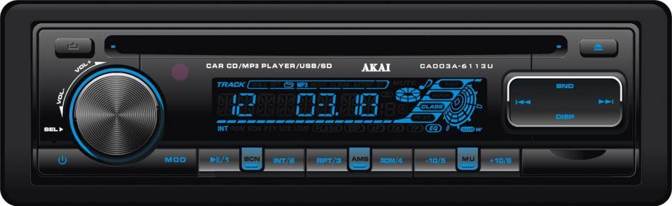 RADIO CD USB AUTO AKAI CA003A-6113U
