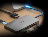 DLINK 6-IN-1 USB-C HUB DUB-M610