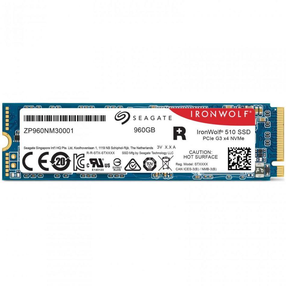 SG SSD 960GB M2 NVME IRONWOLF 510