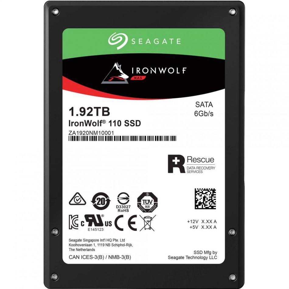 SG SSD 1.92TB 2.5 SATA III IRONWOLF