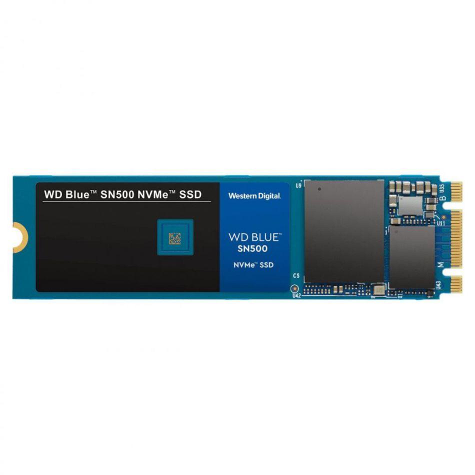 WD SSD 500GB BLUE M2 NVMe WDS500G2B0C