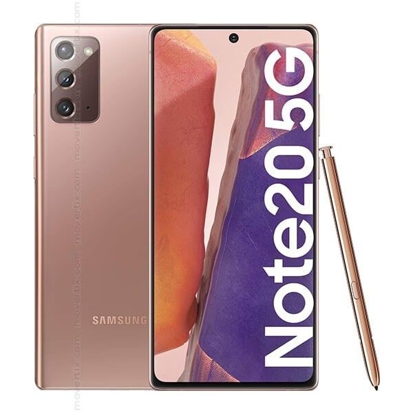 SAMSUNG NOTE 20 5G N981 6.7' 8GB 256GB DualSIM MYSTIC BRONZE