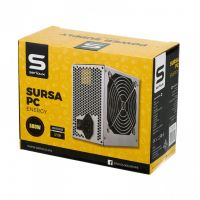 Sursa Serioux Energy 500W, Ventilator 12cm, Protecții: OCP/OVP/UVP/SCP/OPP, Cabluri: 1*20+4pin, 1*4+4pin, 1*PCI-E 6+2pin, 2 *Molex, 4*SATA, Cablu alimentare: 1.2m