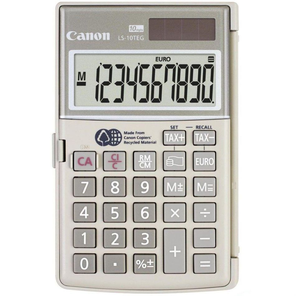 CANON LS10TEGDBL CALCULATOR 10 DIGITS