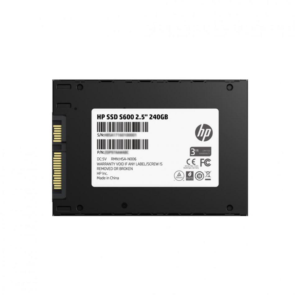 HP SSD 240GB 2.5 SATA S600