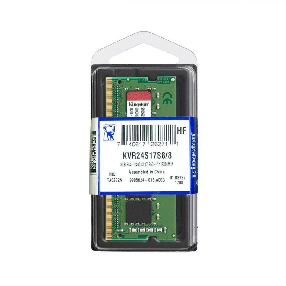 KS SODIMM DDR4 8GB 2400 KVR24S17S8/8
