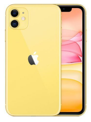 APPLE IPHONE 11 6.1' 4GB 64GB Yellow (no adapter & headphones)