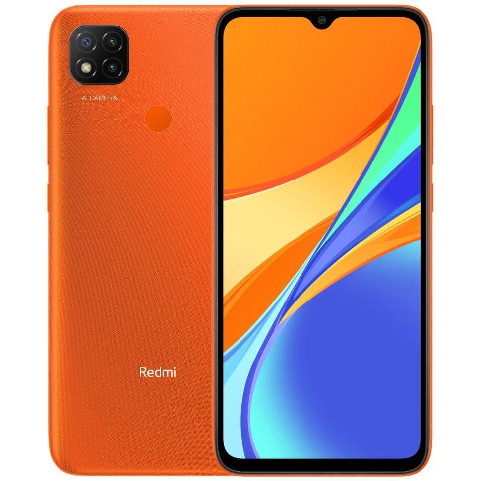 Xiaomi Redmi 9C NFC Dual SIM 32/2GB 6.53'Sunrise Orange
