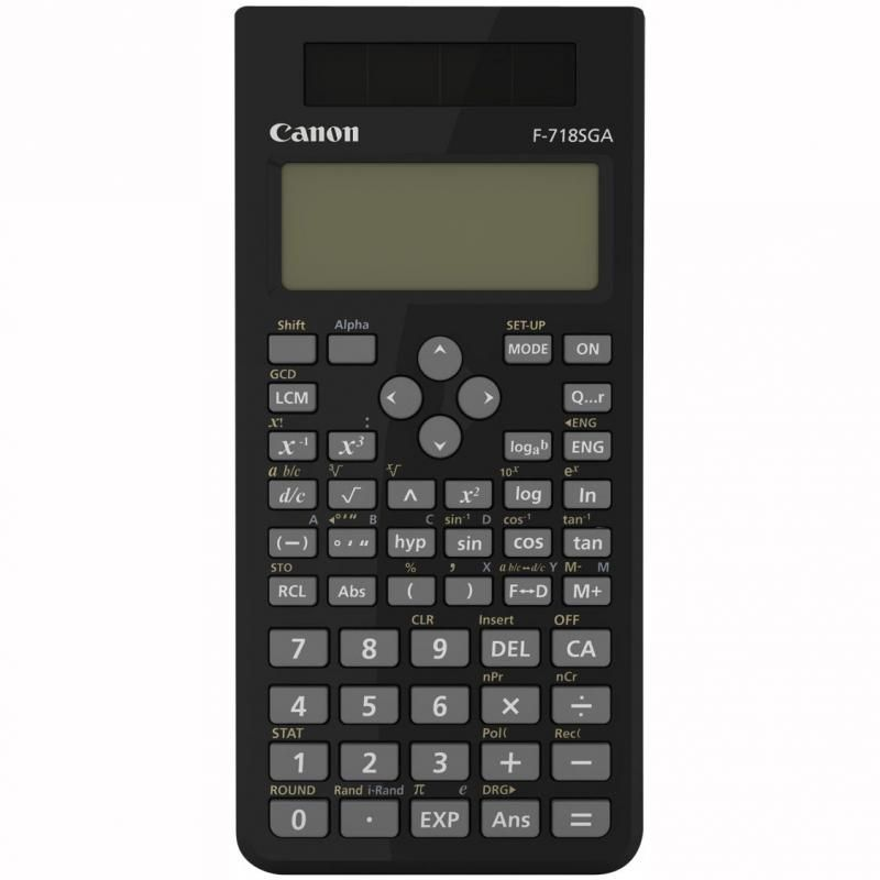 CANON F718SGABK CALCULATOR 10 DIGITS