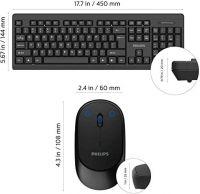 Philips SPT6324B Wireless keyboard-mouse