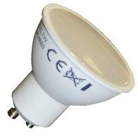 Bec spot LED 3W Termoplastic GU10 220V lumina alba calda 3000k